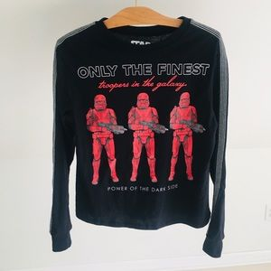 Star Wars Shirt Storm Troopers Long Sleeve New